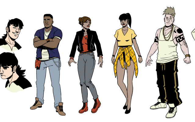 Point Bliss Character Designs Lineup